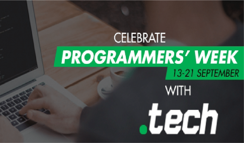 Get ready to celebrate the world's Programmers with .tech domains!