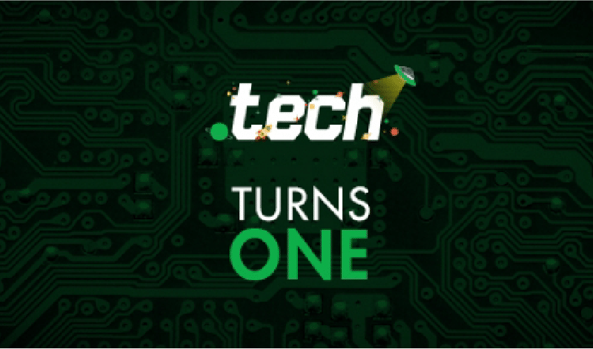 .TECH has turned ONE!