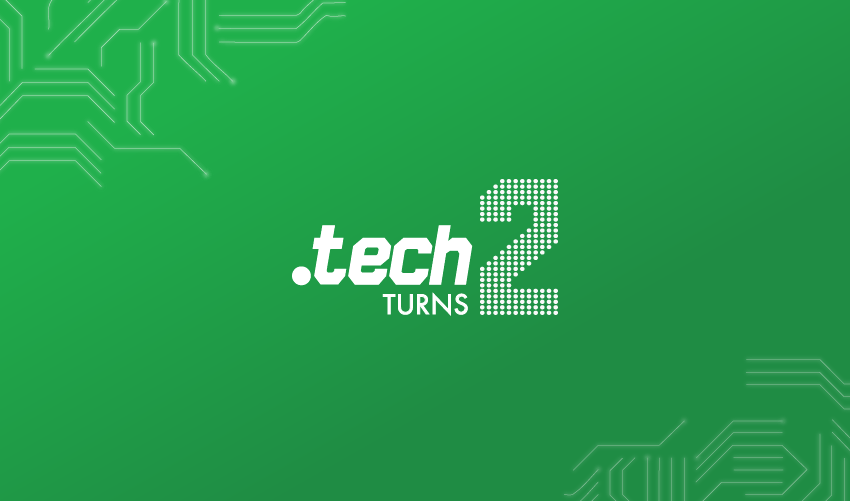 .tech Turns Two!