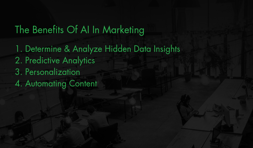 The Benefits Of AI In influencing marketing