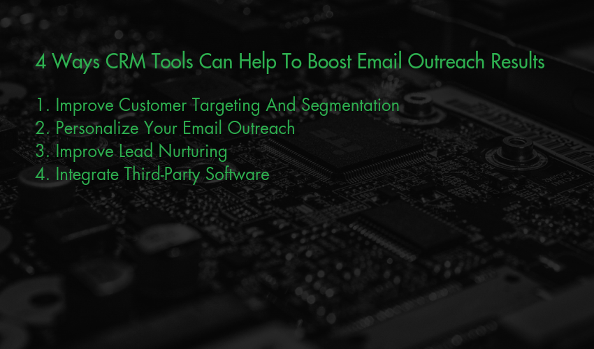 CRM Tools - Ways To Boost Email Outreach