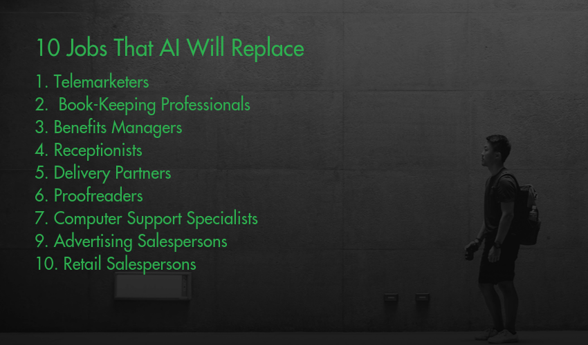 10 Jobs That AI Will Replace