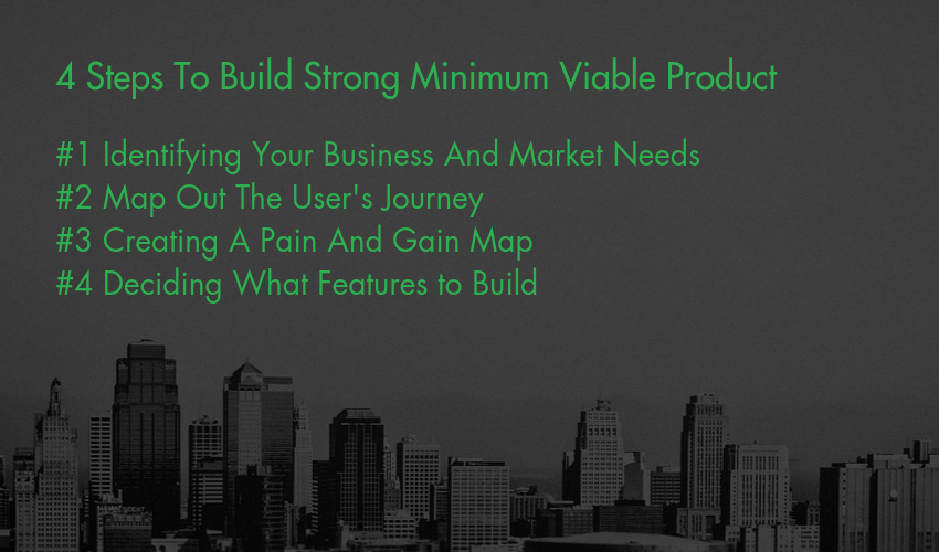 4 Steps To Build Strong Minimum Viable Product