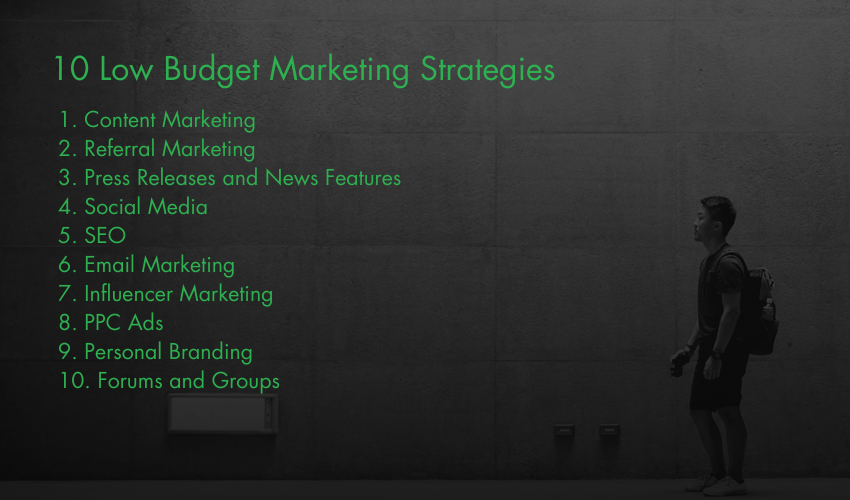 10 Low Budget Marketing Strategies