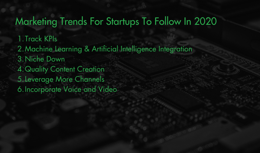Marketing Trends For Startups To Follow In 2020