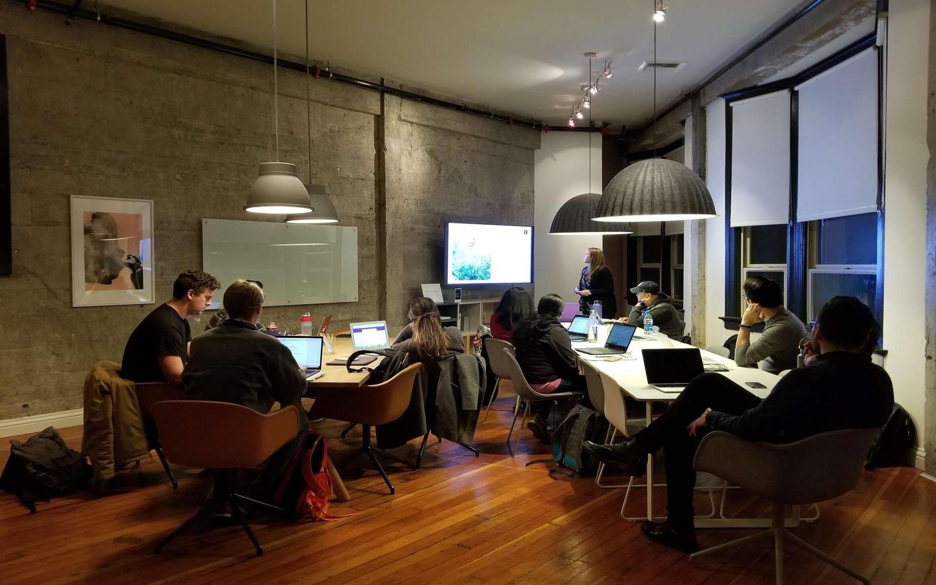 tech startup team positions